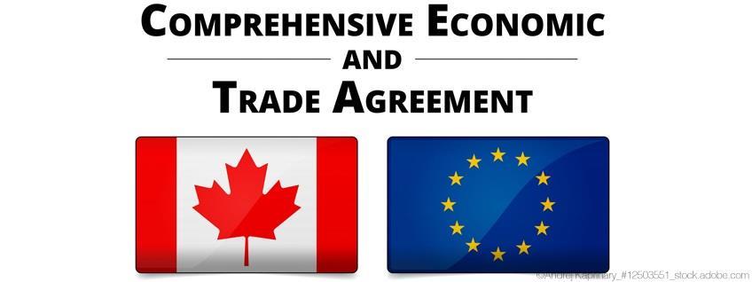 CETA: Draw-Back-Verbot im Warenverkehr mit Kanada