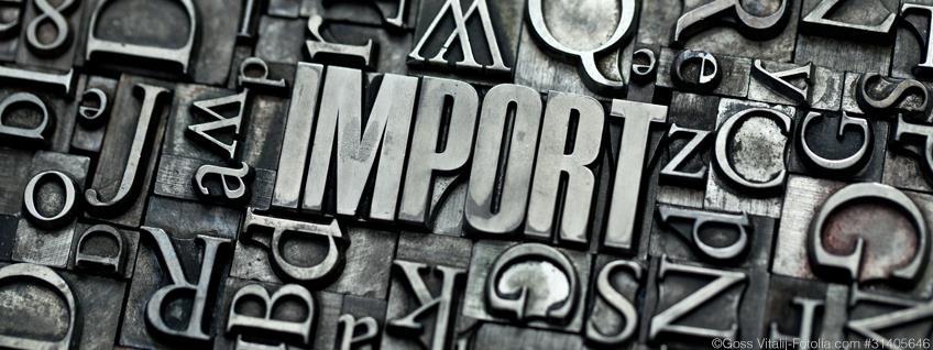 Import: Kontrollen von Futter- & Lebensmitteln auf Genusstauglichkeit